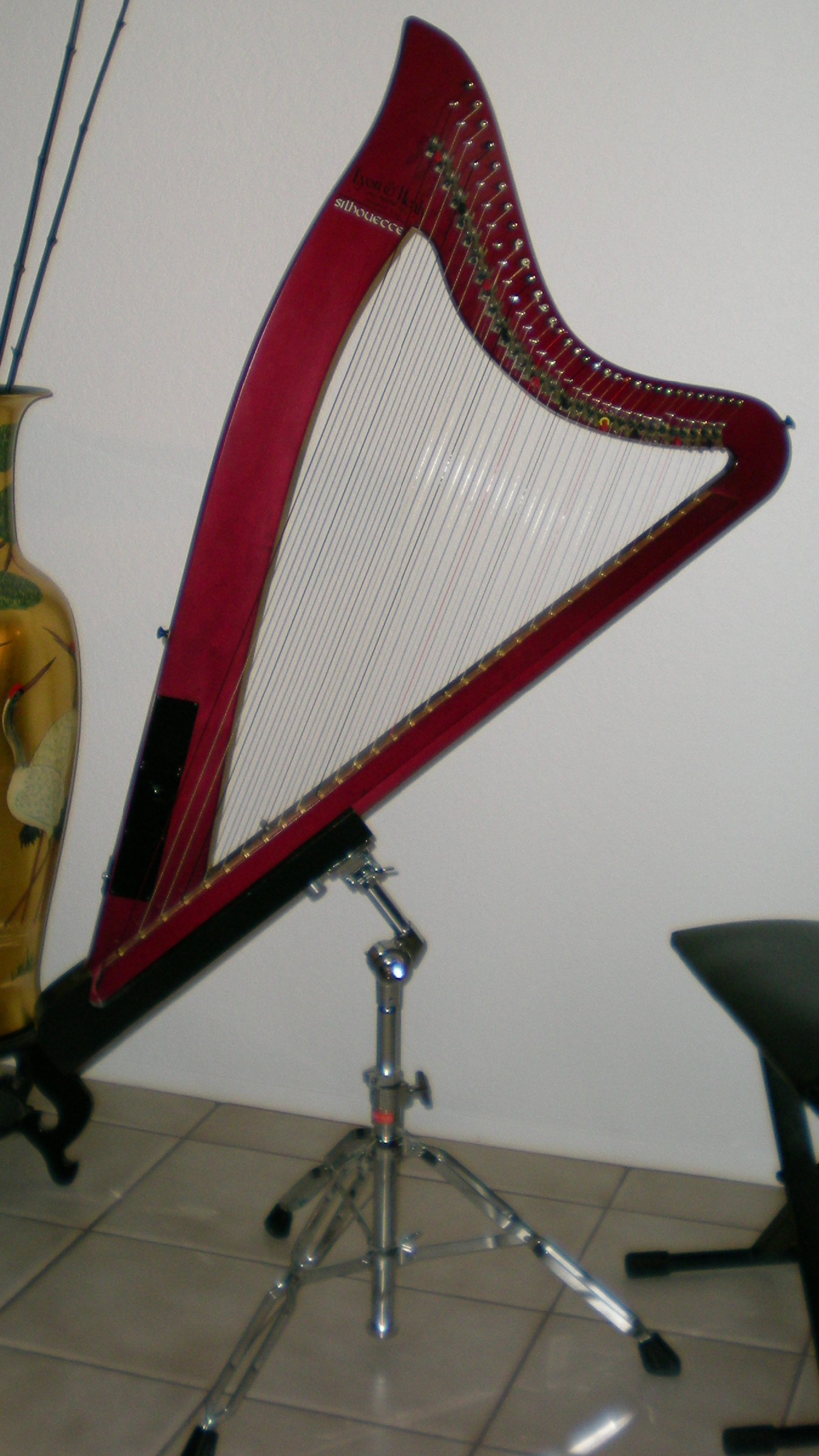 Lyon and Healy Silhouette for sale - Harp Column